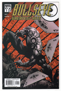 Bullseye Greatest Hits #1 Regular Mike Deodato, Jr. Cover (2004) Front