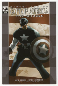 Captain America The Chosen #3 Travis Charest Variant Cover (2007) Front