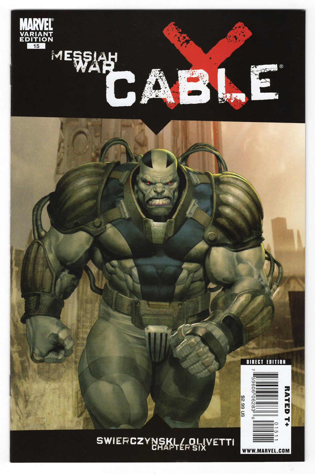 Cable #15 Ariel Olivetti Variant Cover (2009) Front