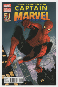Captain Marvel #1 Paolo Rivera Spider-Man Variant Cover (2012) Front