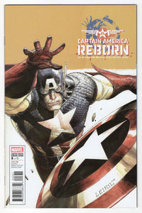 Captain America Reborn #3 Leinil Francis Yu Incentive Variant Cover (2009) Front
