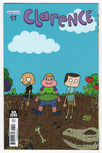 Clarence #1 Liz Prince Variant Cover (2015) Front