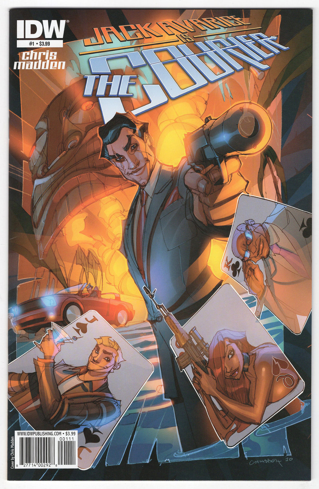 Jack Avarice Is The Courier #1 Regular Chris Madden Cover (2011) Front