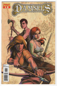 Damsels #4 Regular Joseph Michael Linsner Cover (2013) Front