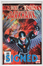 War of Kings Darkhawk #1 Regular Brandon Peterson Cover (2009) DF Limited Version Signed by Brandon Peterson Front Main