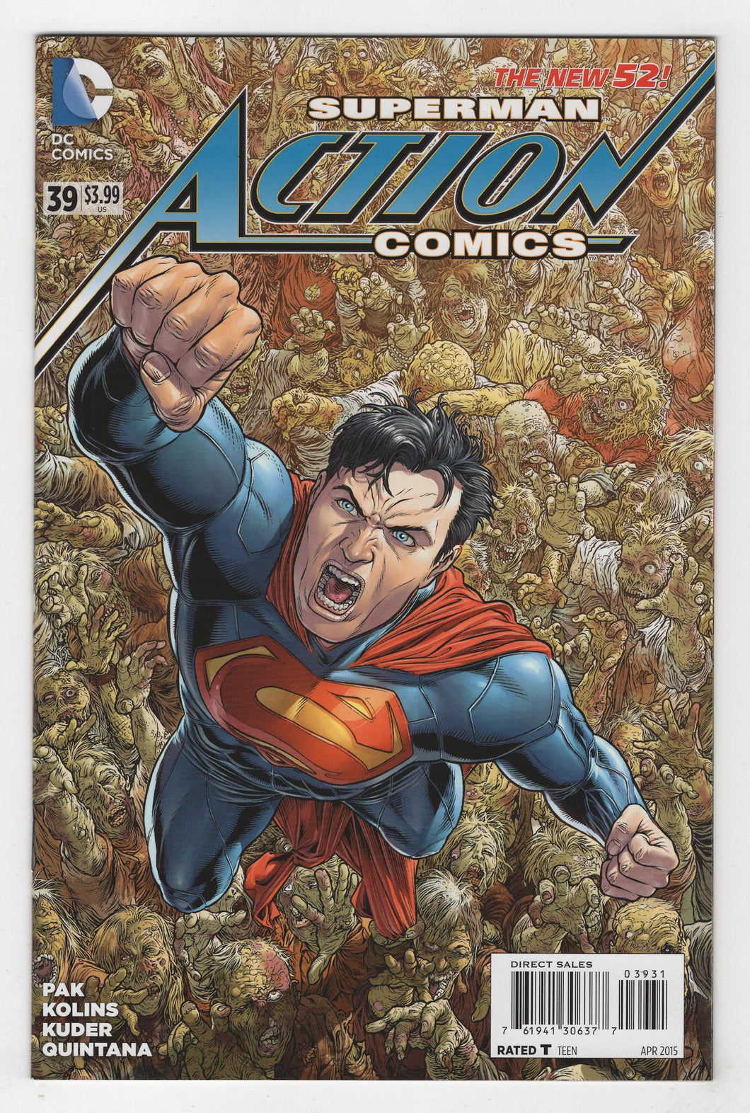 Action Comics #39 Variant Cover Front