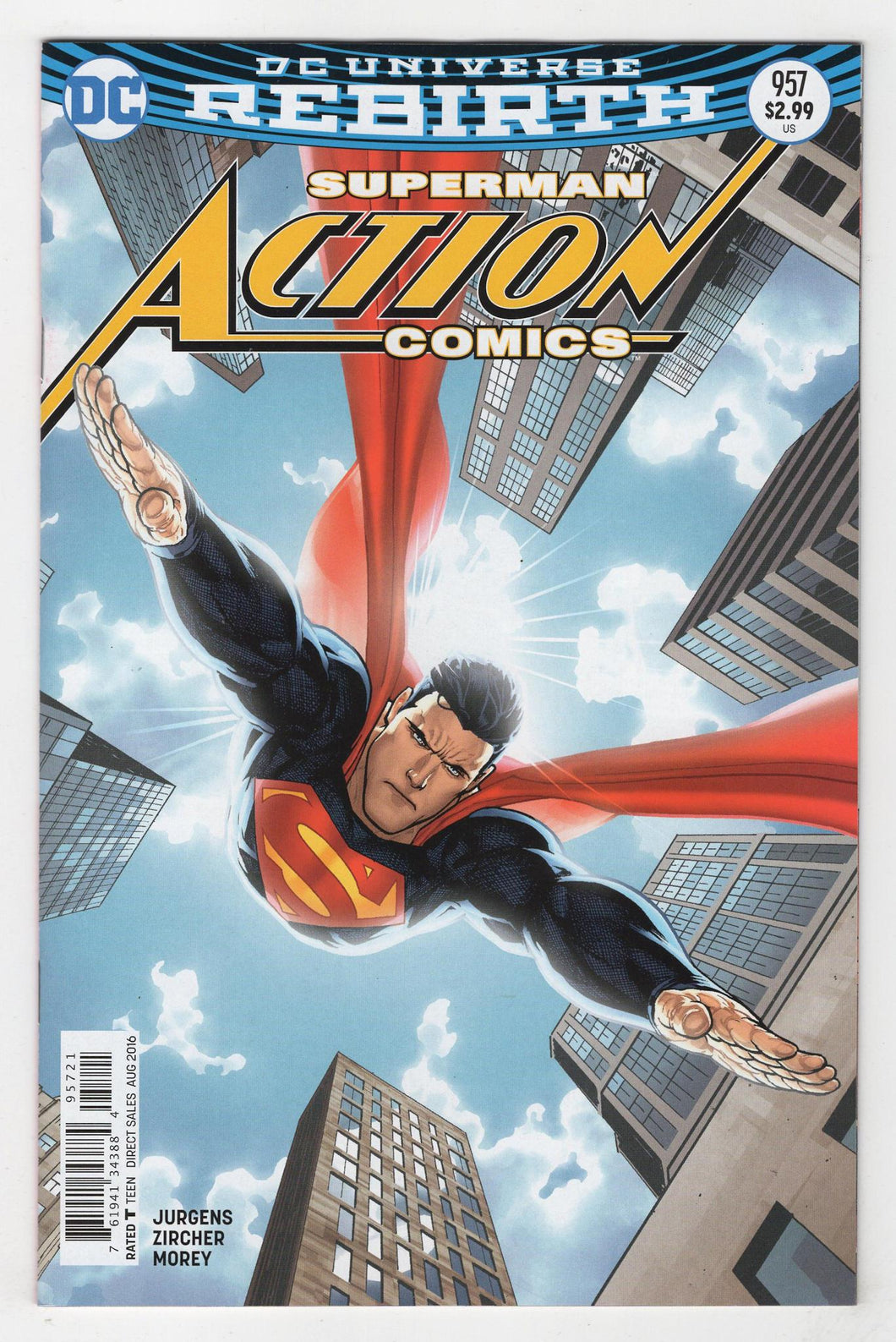 Action Comics #957 Variant Cover Front