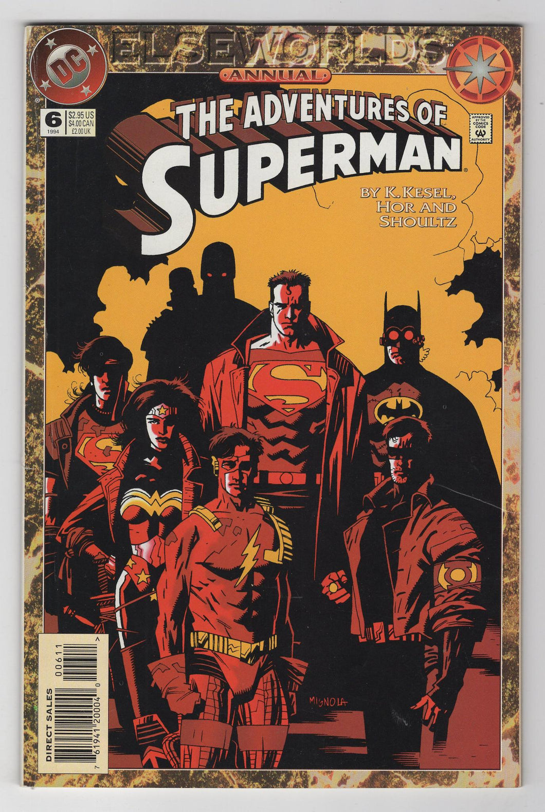 Adventures of Superman Annual #6 Cover Front