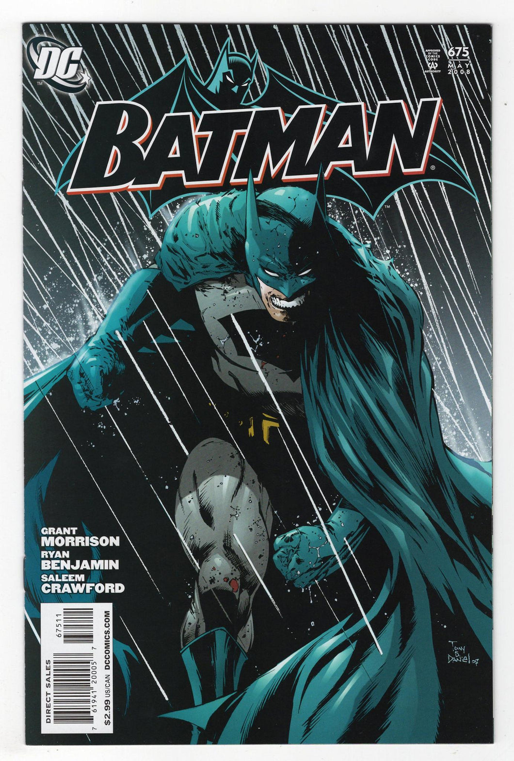 Batman #675 Cover Front