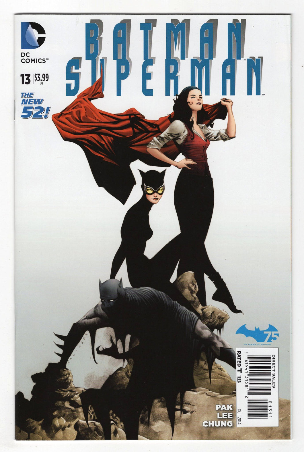 Batman Superman #13 Cover Front