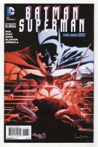 Batman Superman #17 Variant Cover Front
