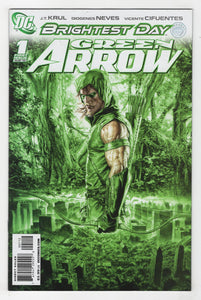 Green Arrow #1 2nd Printing Cover Front