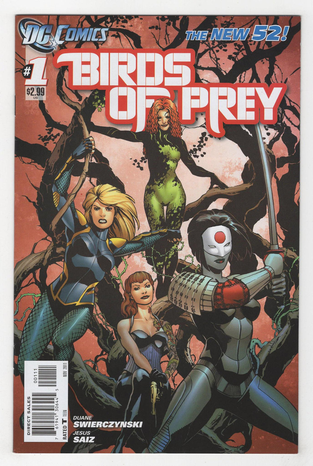 Birds of Prey #1 Cover Front