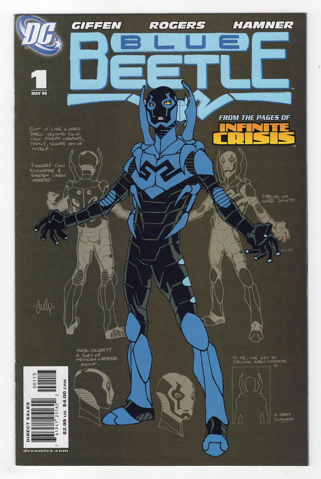 Blue Beetle #1 Variant Cover Front