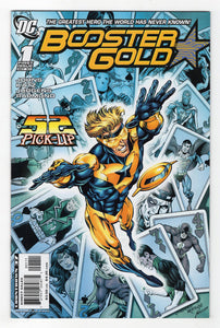 Booster Gold #1 Cover Front