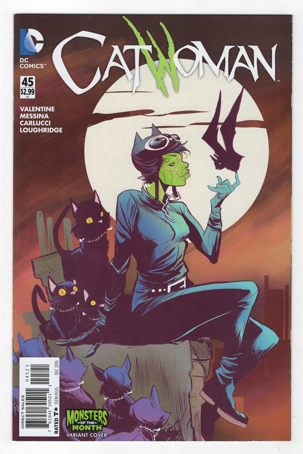 Catwoman #45 Variant Cover Front