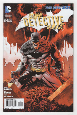 Detective Comics #10 Cover Front