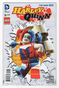 Harley Quinn #12 Lego Variant Cover (2015) Front