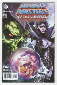 He-Man and the Masters of the Universe #4 Cover Front