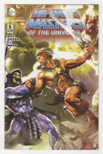 He-Man and the Masters of the Universe #6 Cover Front