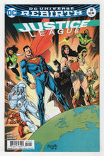Justice League #14 Variant Cover Front