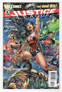 Justice League #3 Cover Front