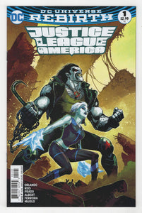 Justice League of America #1 Variant Cover Front