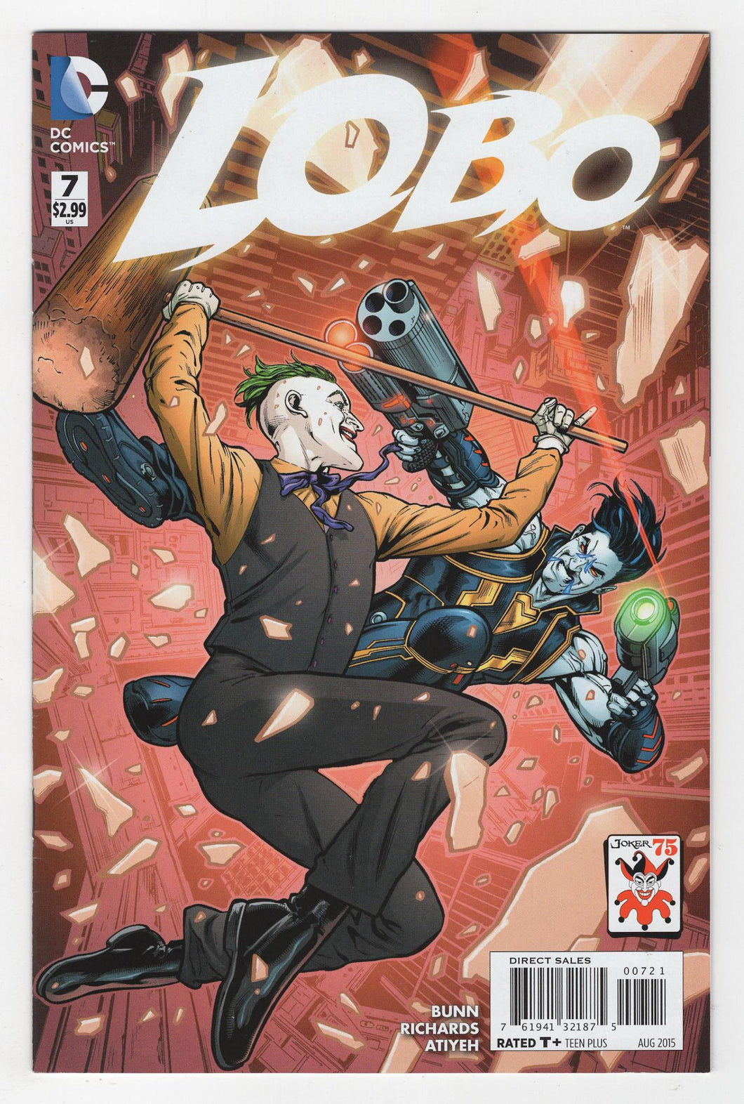 Lobo #7 Variant Cover Front