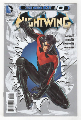 Nightwing #0 Cover Front