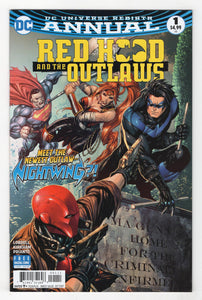 Red Hood and the Outlaws Annual #1 Cover Front