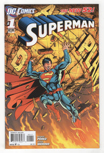 Superman #1 Cover Front