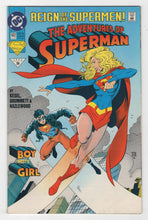Adventures of Superman #502 Cover Front