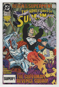 Adventures of Superman #504 Cover Front