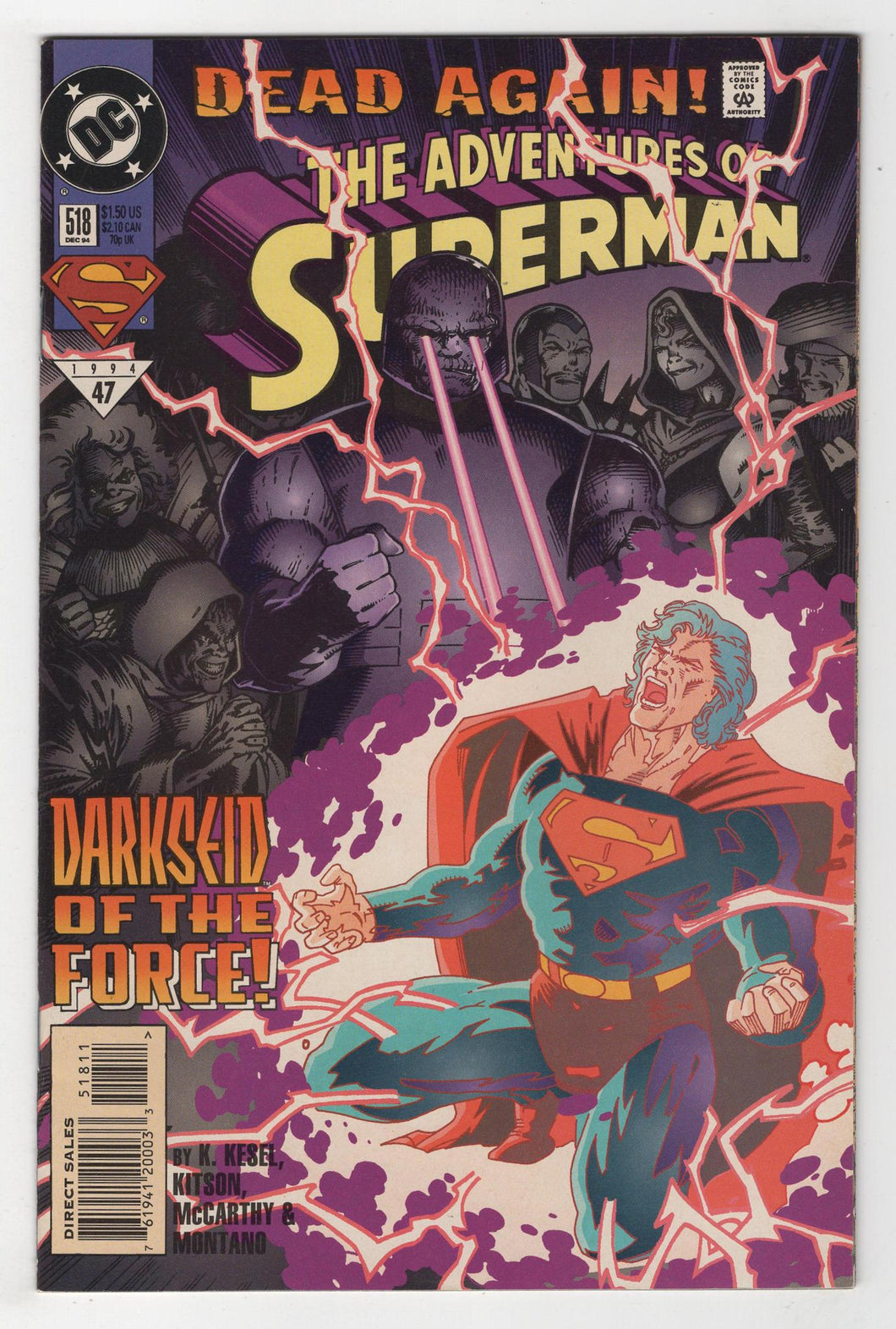 Adventures of Superman #518 Cover Front