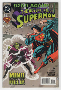 Adventures of Superman #519 Cover Front