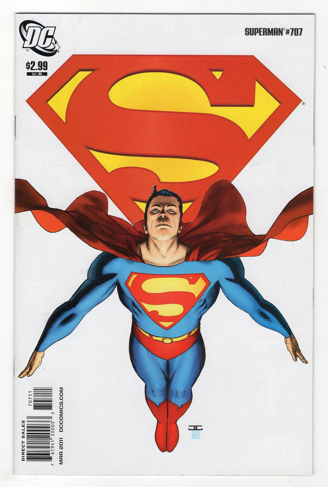 Superman #707 Cover Front