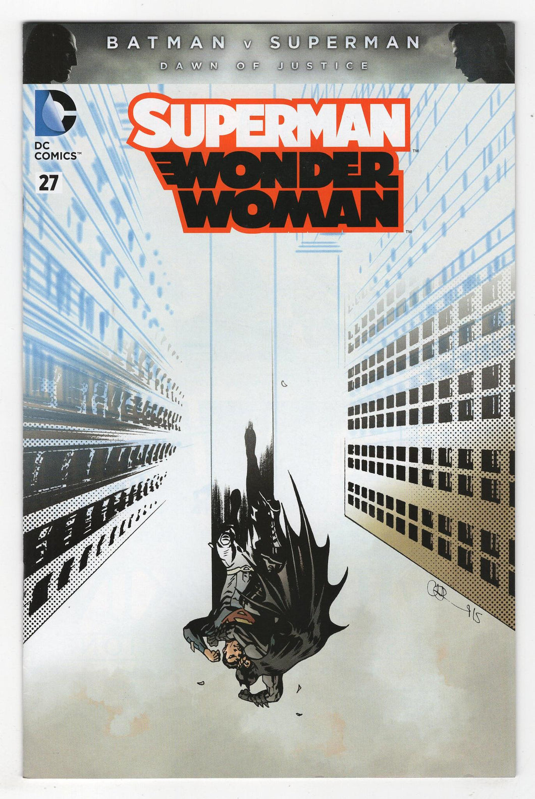 Superman Wonder Woman #27 Variant Cover Front