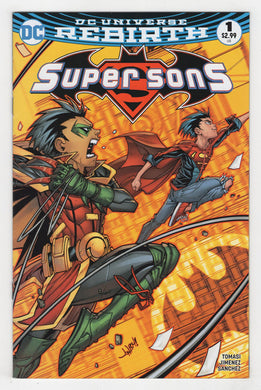 Super Sons #1 Variant Cover Front