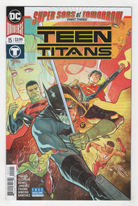 Teen Titans #15 Cover Front