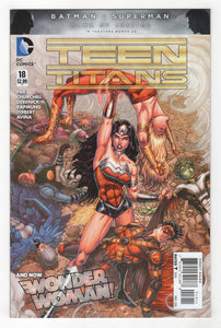 Teen Titans #18 Cover Front