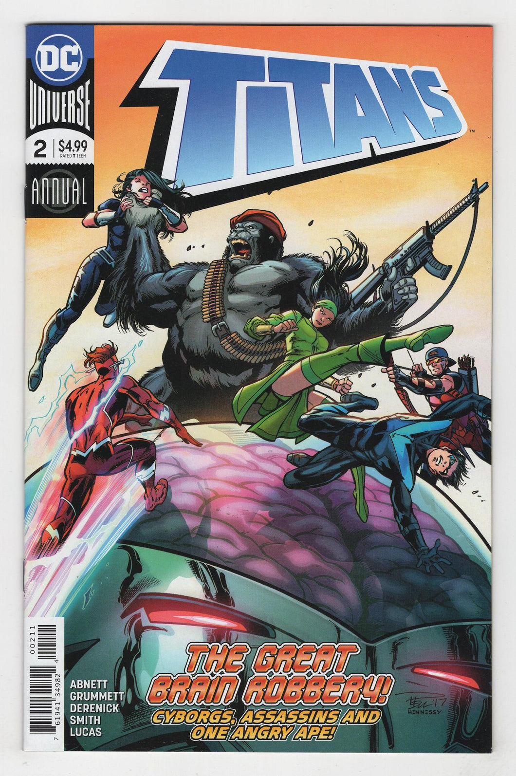 Titans Annual #2 Cover Front