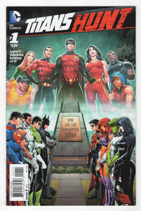 Titans Hunt #1 Cover Front