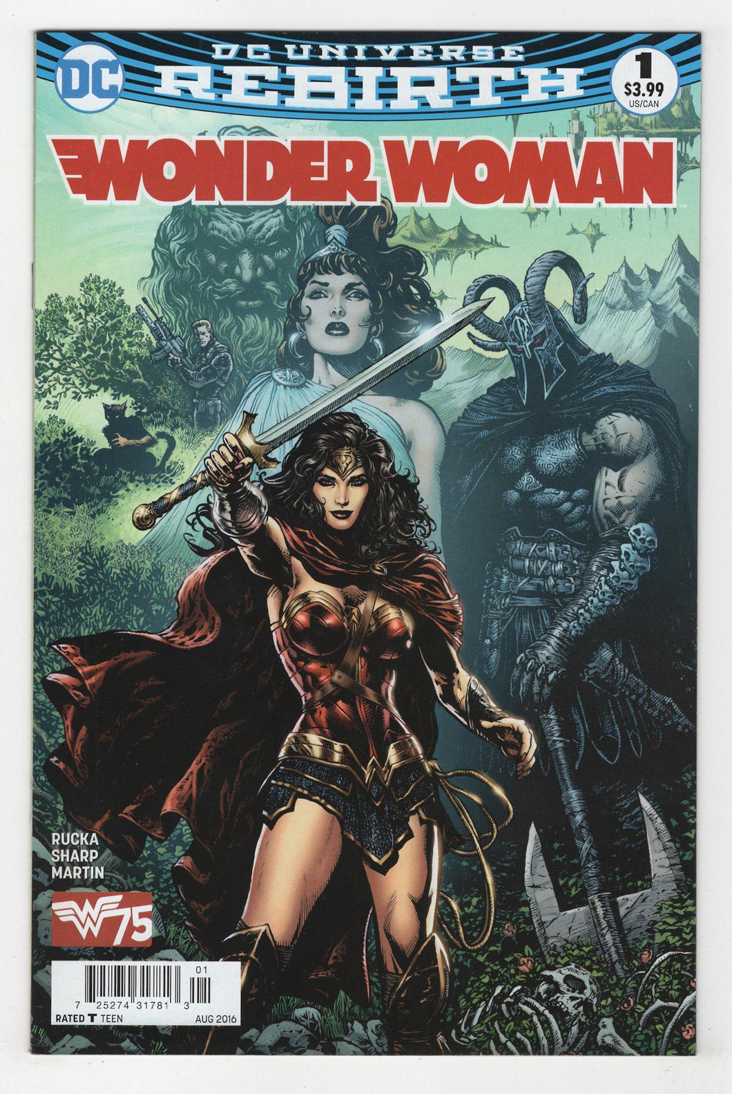 Wonder Woman #1 Cover Front