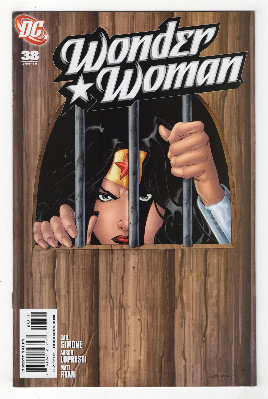 Wonder Woman #38 Cover Front