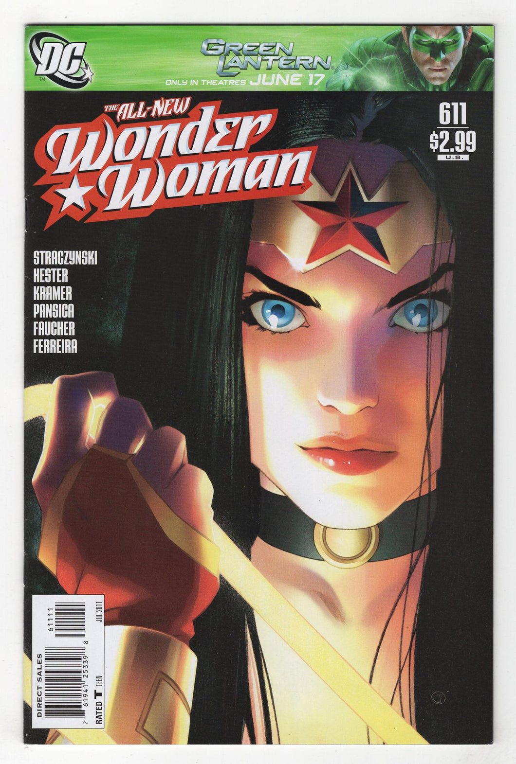 Wonder Woman #611 Cover Front