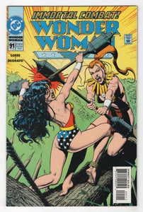 Wonder Woman #91 Cover Front