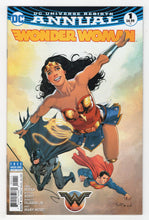 Wonder Woman Annual #1 Cover Front