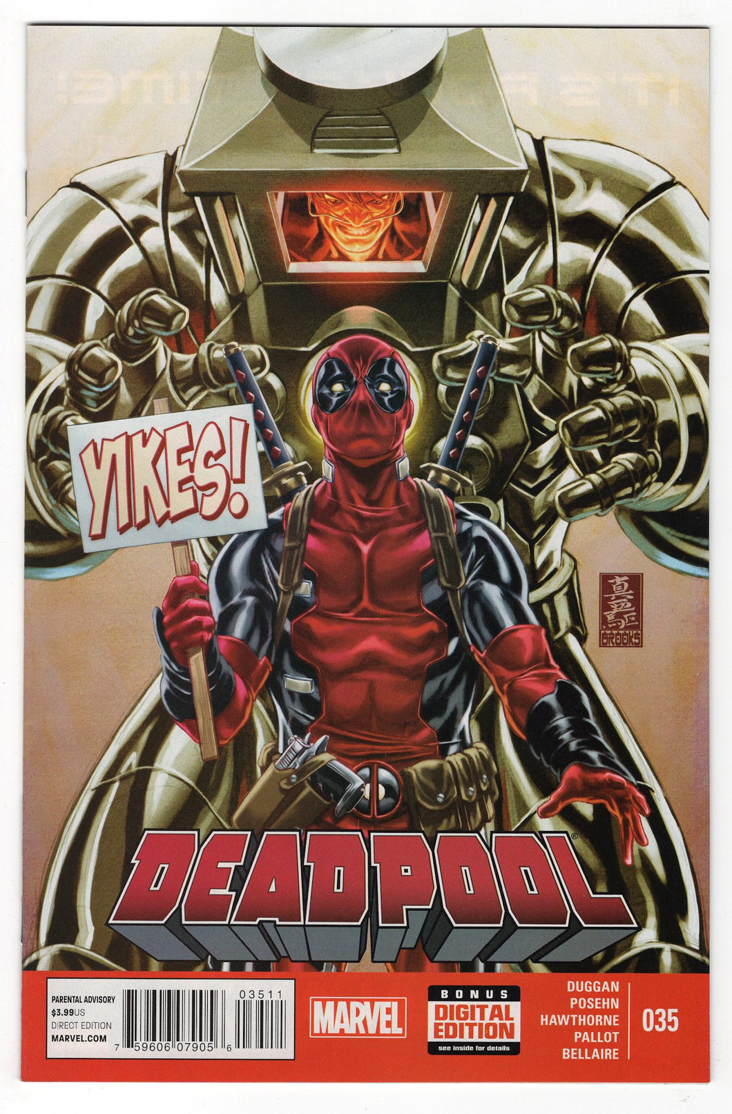 Deadpool #35 Front Cover