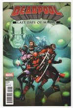 Deadpool Last Days of Magic #1 Front Cover