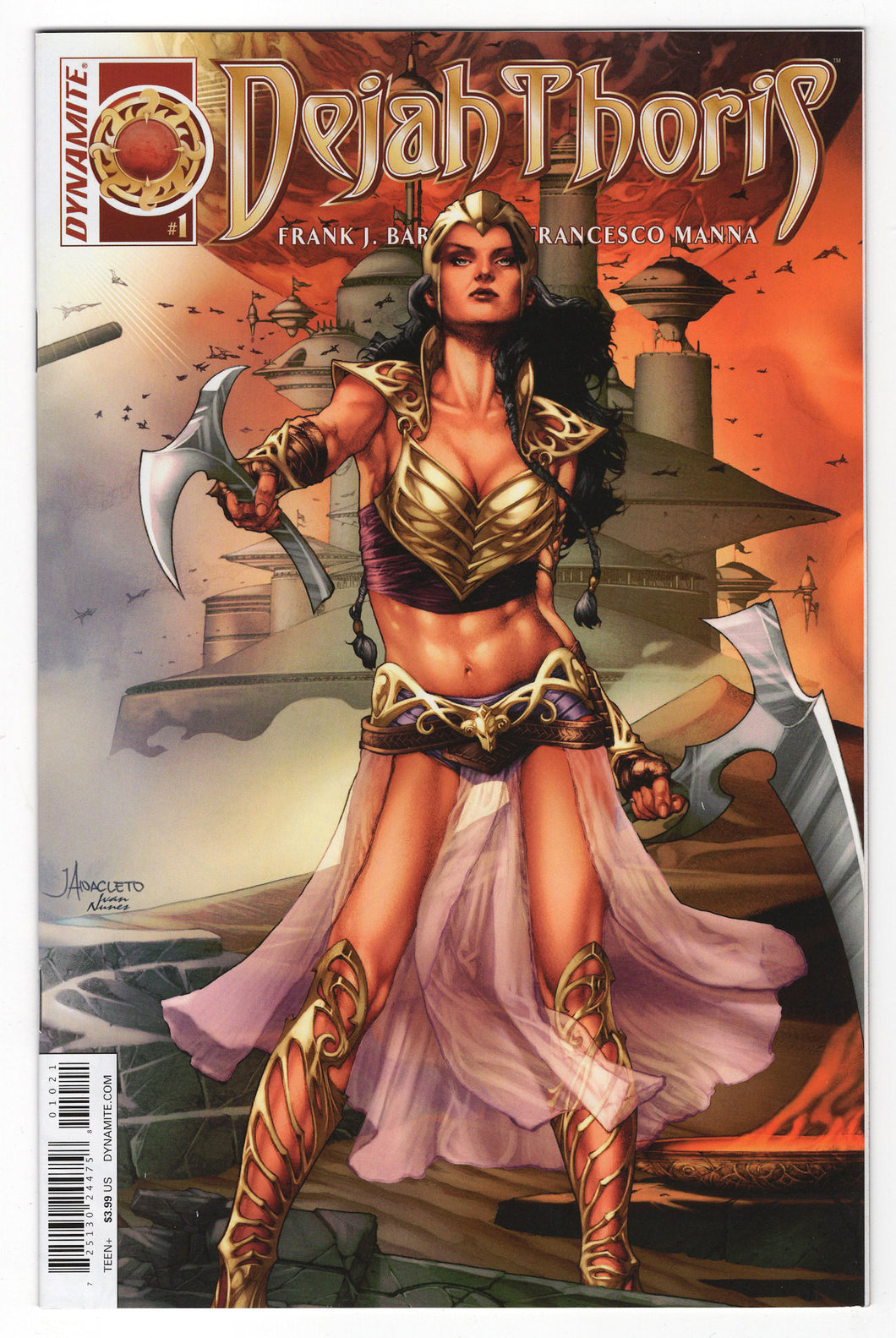 Dejah Thoris #1 Jay Anacleto Connecting Variant Cover (2016) Front